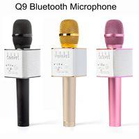 2017 New Arrival Q9 Bluetooth Microphone Speaker Handheld Ka...