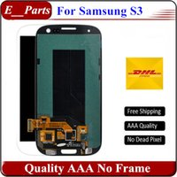 Pour Samsung Galaxy S3 lcd Qualité d'origine AAA I9300 I9308 I9305 T999 i535 I747 Affichage LCD Numériseur Ecran tactile Non Frame