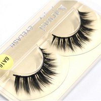 Supernatural Lifelike False Eyelashes 1- 1. 5cm 3D Strip Mink ...