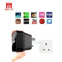 T95P TV Box Android 6. 0 Marshmallow 1GB 8GB Amlogic S905X Qu...