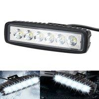 18W Flood LED Work Light ATV Off Road Light Lamp Fog Driving...