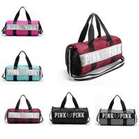2017 Pink Handbags Love VS Pink Large Capacity Travel Duffle...