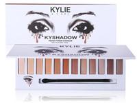 Новое прибытие Kylie 12color kyshadow порошок Eyeshadow Прессованные тени для век матовые гель водонепроницаемый глаз версия тень 3 На складе