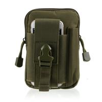 outdoor sports molle waist pack fanny phone pouch belt bag E...