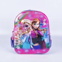 New Arrival girls children plush bag frozenly Kids Cute Cart...