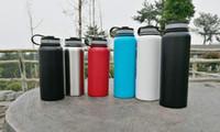 Hydro Flask 18oz 32oz 40oz Vacío aislado de acero inoxidable botella de agua 304 de acero inoxidable Tumbler botella de agua de aislamiento frío CUP