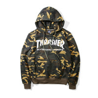 Thrasher Hoodie 2016 Skateboard Sweartshirt Pullover Sudader...