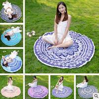Mandala cubierta de bikini tapicería toalla de playa Bohemia Hippie Beachwear playa de gasa Sarongs toalla de baño toalla de yoga picnic tapa CCA5614 50pcs