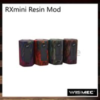 Wismec Reuleaux RXmini Résine Mod 80W Firmware améliorable Protection contre le double circuit RX Matériau résine mini Poids léger 100% Original