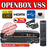 Openbox V8S satellite receivers DVB- S IPTV V8 support 2xUSB ...