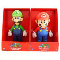 Super Mario Bros PVC Figure topper Super Mario nds Luigi Pea...