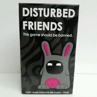 Zorn toys- Disturbed Friends- This game should be banned Card ...