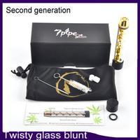 Twisty Glass Blunt v2 Pipe Kit Deuxième Génération Herbal Vaporizer Filter System Plus d'accessoires 5 couleur 0266109-2