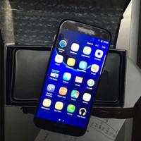 S7 Edge Android 6.0 5.5inch Curve MTK6735 1G RAM 8GB Téléphones cellulaires téléphones clone Afficher 4G réseau 4G 64GB