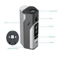 Auténtico RX2 / 3 Box Mod Wismec Reuleaux para 2 o 3 células TC 200W 510 Hilo