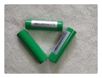Free Fedex Batterie lithium de haute qualité INR18650 Green 25R batterie, batterie li-ion pour toutes sortes de e cigs Meilleure qualité