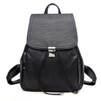 New Design Women Fashion Backpack PU Leather Shoulder Bag La...