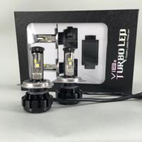 High quality V18 U2 H4 50w 5000 lumen XHP50 led headlight bu...