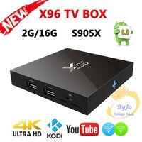 X96 TV Box S905X 1G 8G or 2G 16G Amlogic Quad Core Android 6...