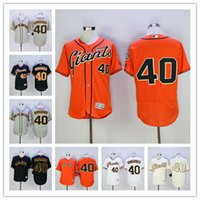 Madison Bumgarner Jersey SFG Giants Baseball Jersey Flexbase...