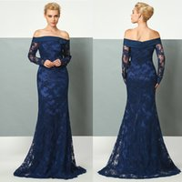 Navy Blue Plus Size Mother Of The Bride Dresses Sheath Off S...