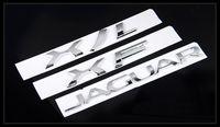 3D chrome silver Fit for Jaguar XF XJ XJL Letter type Rear b...