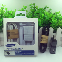 2 in 1 1A 2A charger adapter US EU plug travel micro usb hom...
