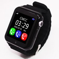 GPS smart watch Call function kids watch V7k with camera fac...