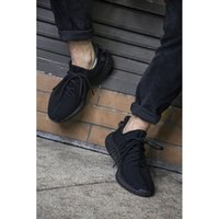 2016 NEW 350 BOOST V2 CP9652 BLACK RED KANYE SHOES NEW SPLY-...