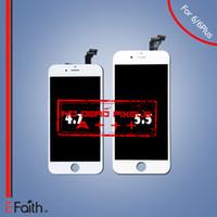 Vente en gros-Pour iPhone 6 iphone 6 Plus Pas de remplacement d'écran pixel mort avec numériseur tactile Livraison gratuite