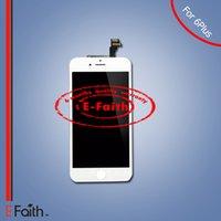 Pour l'iPhone 6 plus l'affichage d'affichage à cristaux liquides de lcd avec le numériseur d'écran tactile complet pour l'expédition libre de DHL de 5.5 pouces