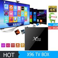 2017 X96 1G 8G S905X TV BOX 4K Android6. 0 Amlogic S905X Quad...
