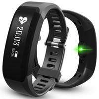 Bracelet santé sportive H28 Bracelet intelligent Bluetooth 4.0 Bracelets intelligents Moniteur de sommeil à balayage imperméable à l'eau avec moniteur de fréquence cardiaque