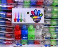 OPP Packing 10000 PCS FREE DHL LED FINGER LIGHT UP RING LASE...