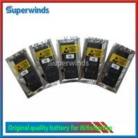 Batterie originale de Liion de qualité pour Apple IPhone 4g 4S IPhone 5 5c 5s IPhone 6 6plus 6S 6S plus le paquet d'opp Livraison gratuite via UPS Fedex