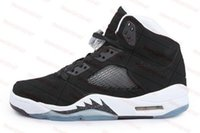 Kids Retro 5 Oreo Black White Grape Fire Red 5s Métallisé Enfant Garçons Filles Basketball Sport Chaussures Baskets Jeunes Chaussures Chaussures 28-35