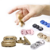 5 Color Metal EDC Hand Spinner Fidget Toy Aluminium Fidget S...