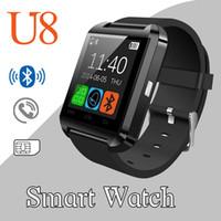 2016 u8 montre élégante Mode Casual Android Watch Digital Sport Poignet LED Paire de montre pour iOS Téléphone Android U8 DZ09 U80