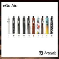 Joyetech eGo AIO Kit Nouvelle Version Couleur All-In-ONE Style 2ml Capacité 1500mah Batterie Réglage de l'Injection d'Air 100% Original