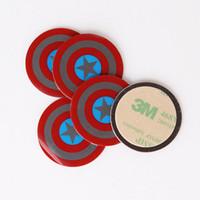 Vente en gros-BRKT montage plaque métallique avec adhésif remplacement plaque métallique kits pour tous magnétique berceau portable
