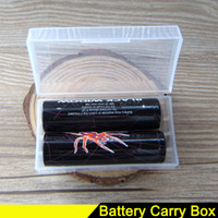 18650 Battery Case Portable Carrying Box Storage Acrylic Box...