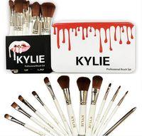 Kylie Makeup Brushes 12 pcs Professional Brush Sets hot Make...