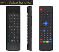 10pcs MX3 X8 T3 W Microphone Mini 2. 4GHz Wireless Gyroscope ...