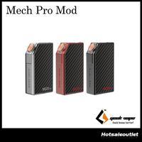 Authentique GeekVape Mech Pro Mod Fire Bouton Lock système de circuit visuel unique ou double 18650 Cell Reverse Battery Protection