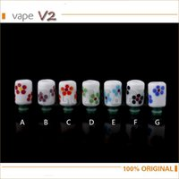 Wholesale- Wide Bore 510 Drip Tips China Ceramic Metal Mouth...