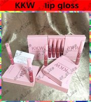 Latest KKW By Kylie Cosmetics Lip gloss 4Pcs lot Makeup Ulti...
