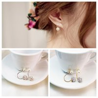 2017 New Arrival Authentic women Pearl is full of diamonds e...