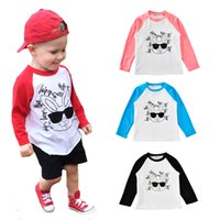 kids t shirts 2017 cartoon letter boys t- shirt baby clothes ...