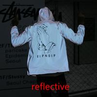 All 3M Reflective RIPNDIP Men Women Jacket Windbreaker High ...
