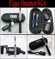 Ego Ce4 Starter Kit Zipper Case Cigarette électronique Blister kits 650mah 900mah 1100mah EGO-T batterie Ce4 Atomizer Vape pen e cig kit